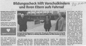 Spende für Nordmarkt-Grundschule - Stadtteil-Schule Dortmund